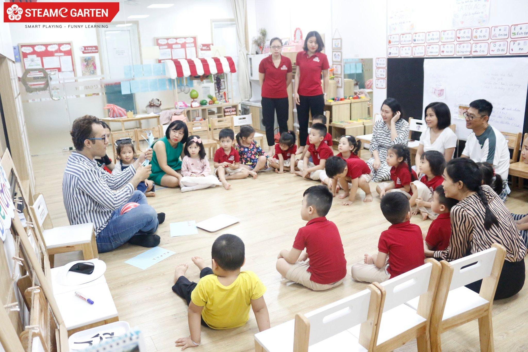 Trường mầm non song ngữ STEAME GARTEN - Hạ Long