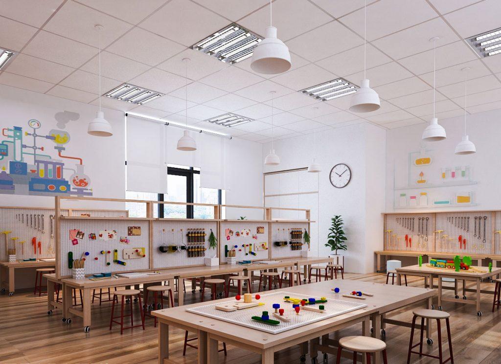 Trường mầm non song ngữ Steame Garten - Lộc Vượng