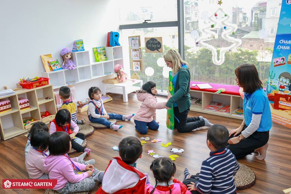 Trường mầm non song ngữ STEAME GARTEN - Tam Trinh