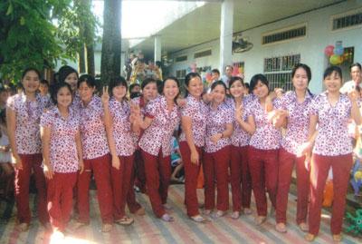 Trường mầm non Tân Đông - Bình Trưng Đông