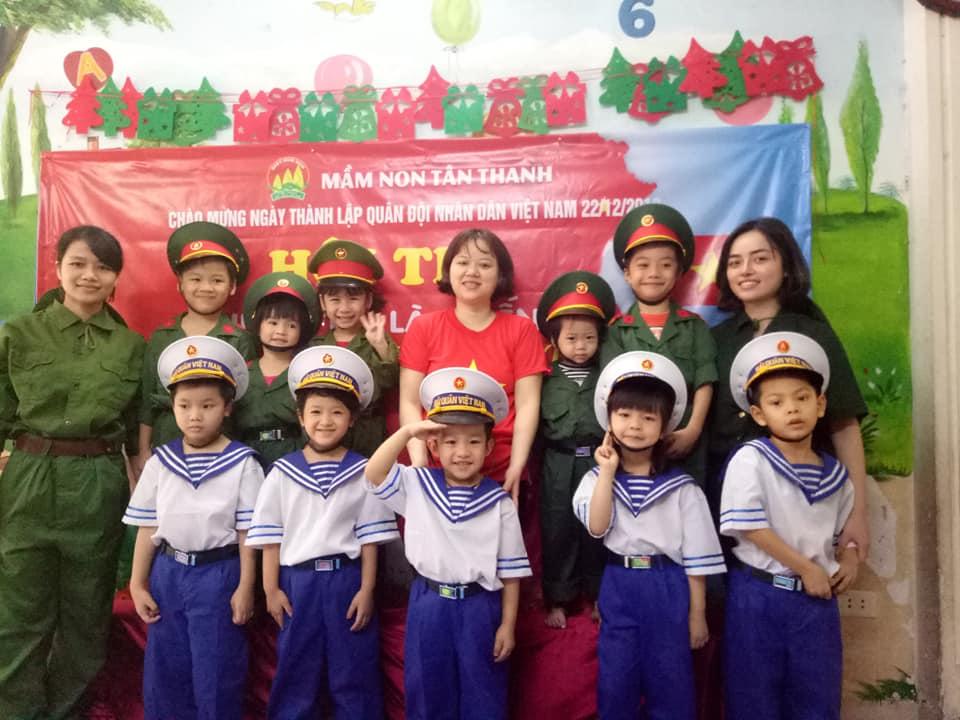 Trường mầm non Tân Thanh - Vĩnh Hưng
