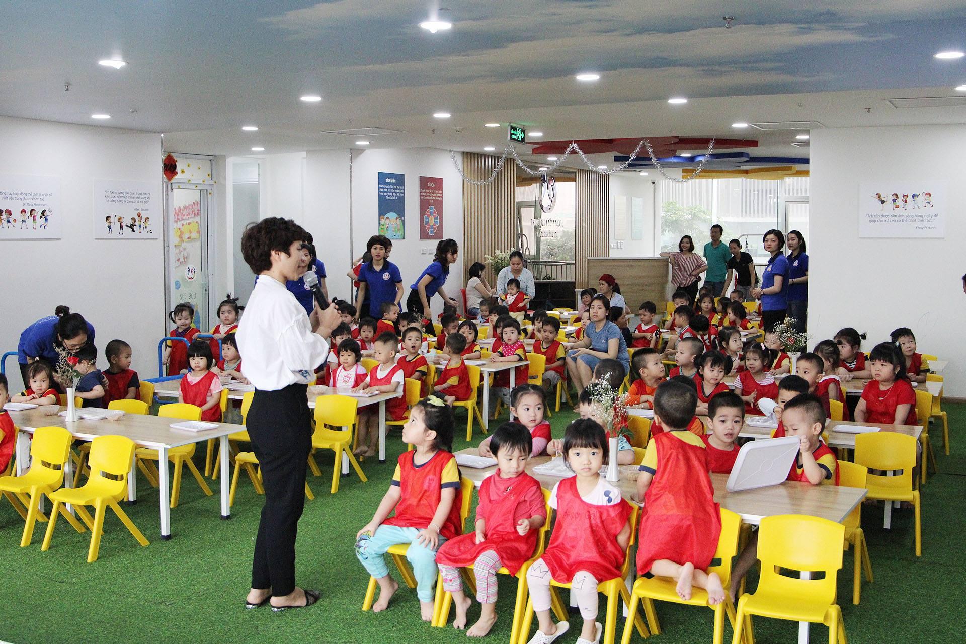 Trường mầm non Tân Thời Đại  -  269 Phúc Diễn