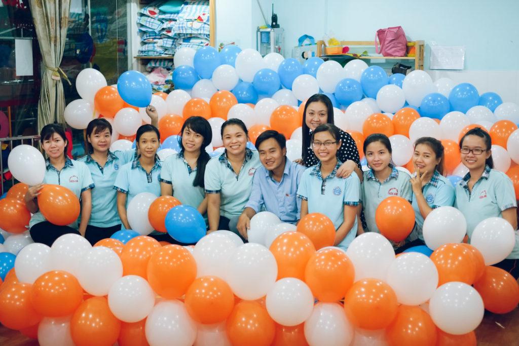 Trường mầm non Thiên Anh - Phường 10