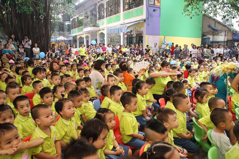 Trường mầm non thực hành Hoa Sen - Giảng Võ