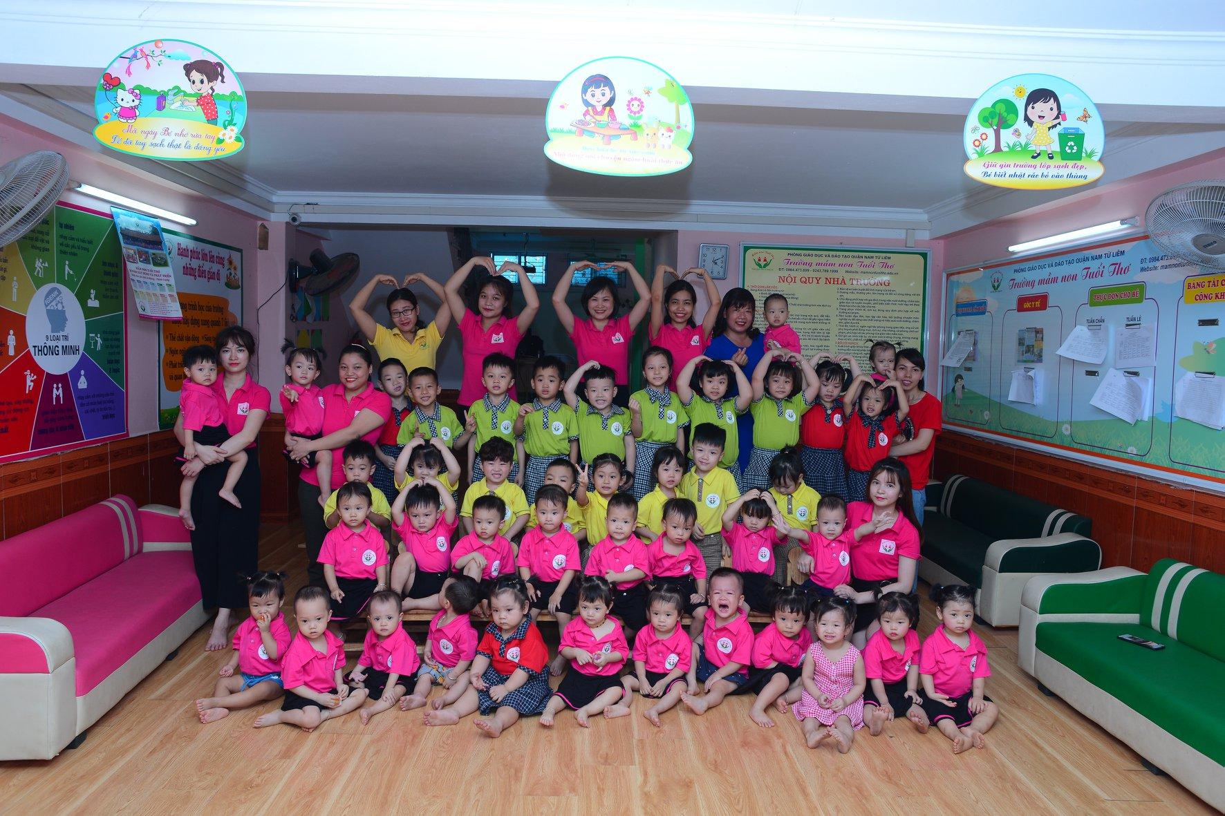 Trường mầm non Tuổi Thơ - ngõ 14 phố Mễ Trì