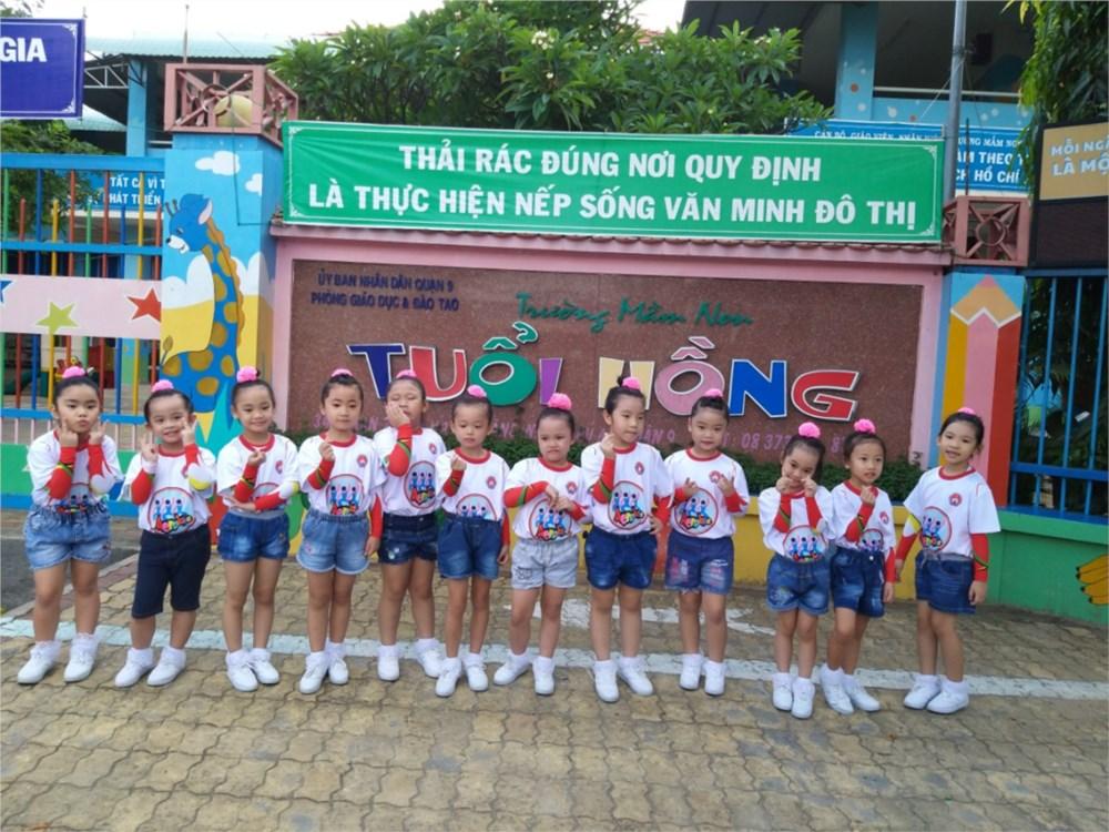 Trường mầm non Tuổi Hồng - Man Thiện