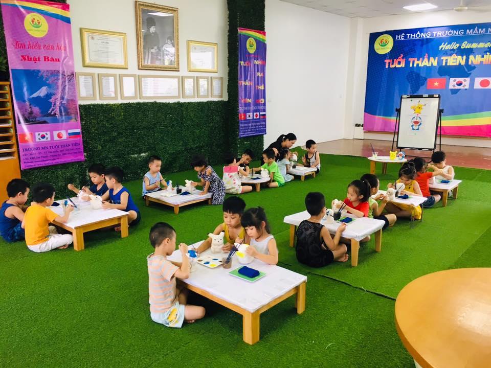Trường mầm non Tuổi Thần Tiên _ Cơ sở 1 ( Wonderland) - Văn Điển