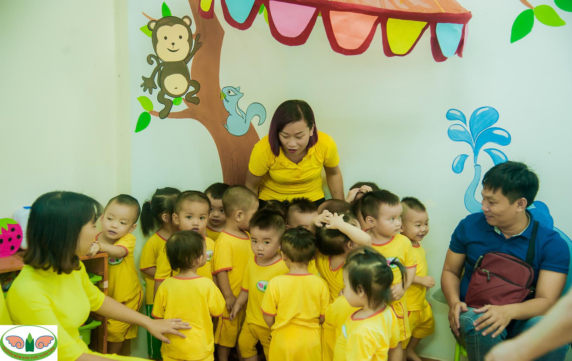 Trường Mầm non Tuổi Thần Tiên - chung cư Victoria CS3