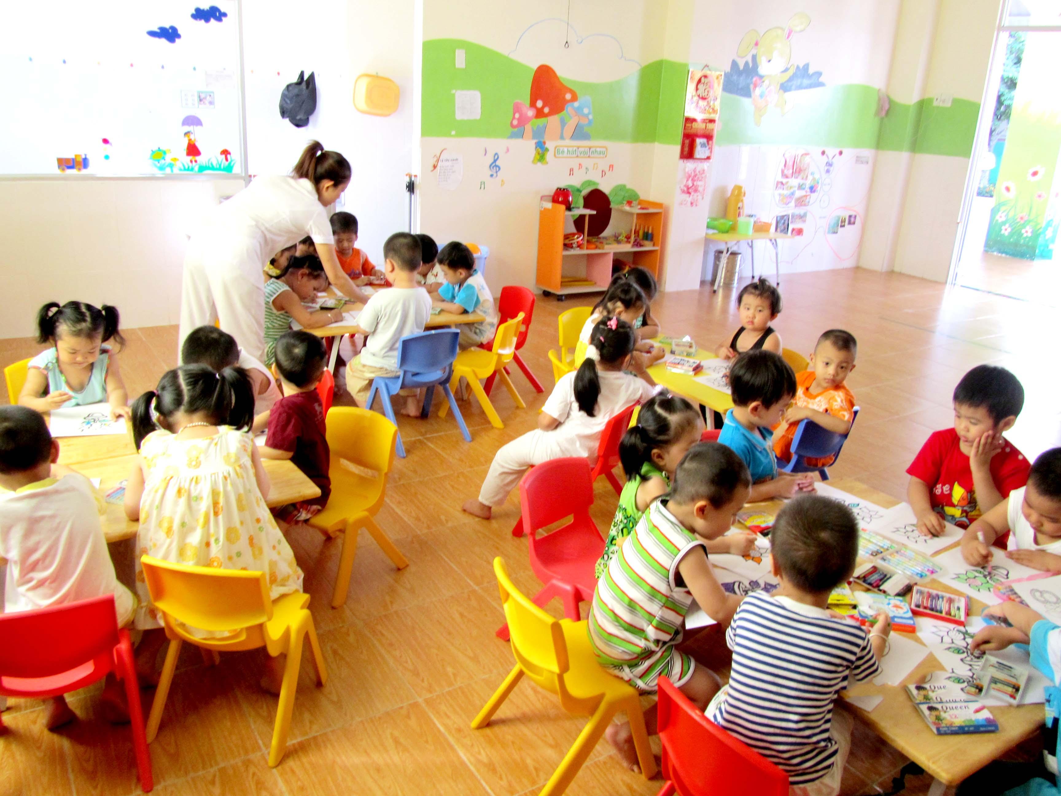 Trường mầm non Tuổi Thần Tiên - Võ Trường Toản