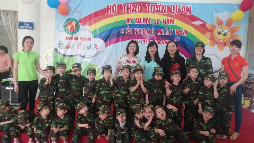 Trường mầm non Tuổi Thơ A - Việt Hưng