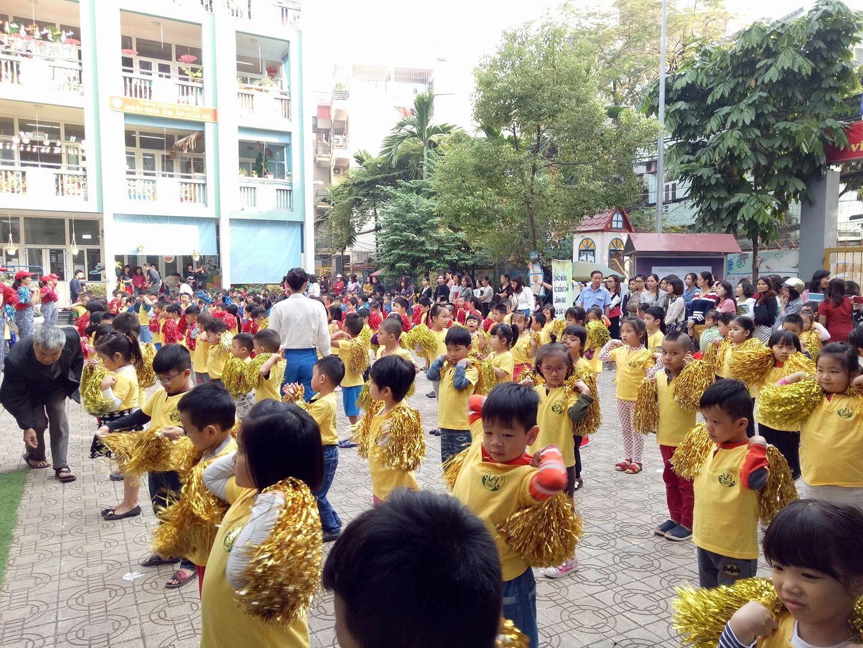 Trường mầm non Vân Hồ - Lê Đại Hành