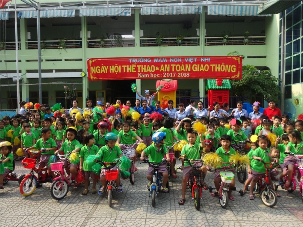Trường mầm non Việt Nhi - Phường 2