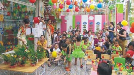 Trường mầm non Xuka Kids - Phường 17