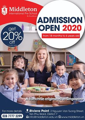 Học bổng 20% học phí và nhiều ưu đãi khác