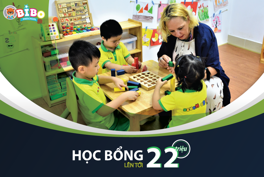 ưu đãi tuyển sinh của Trường mầm non Song ngữ BIBO (BIBO Preschool) - Nghĩa Đô
