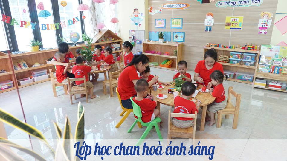 ưu đãi tuyển sinh của Trường mầm non chất lượng cao RubyKids - Mỗ Lao