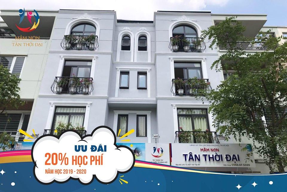 ưu đãi tuyển sinh của Trường mầm non Tân Thời Đại ( Eco Green) - Nguyễn Xiển