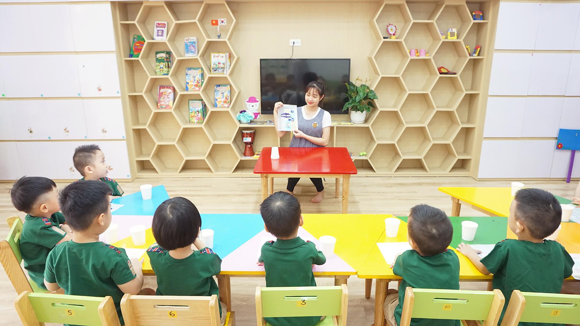 ưu đãi tuyển sinh của Trường mầm non Dongsim Kindergarten - Yên Hòa