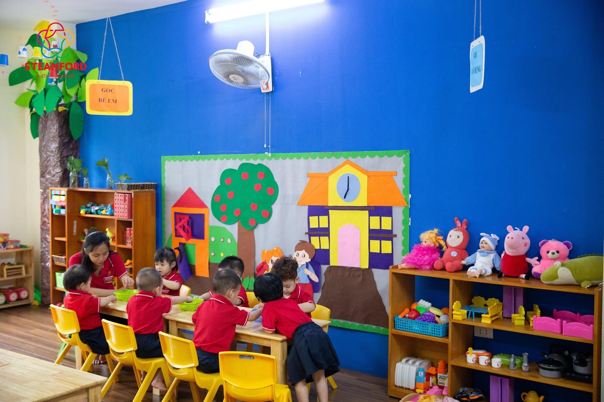 ưu đãi tuyển sinh của Trường mầm non Steamford Kids - Giáp Nhất