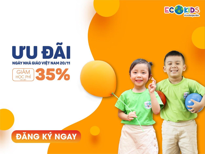 ưu đãi tuyển sinh của Trường mầm non Global Ecokids Goldseason - Nguyễn Tuân