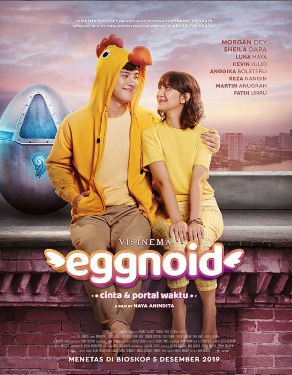 Poster film Eggnoid