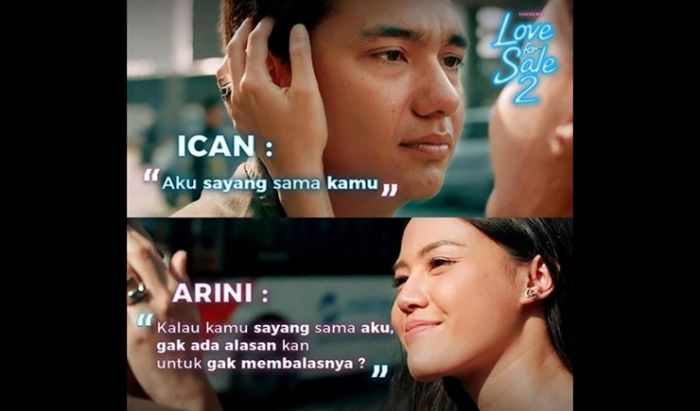 Arini Review Love for Sale
