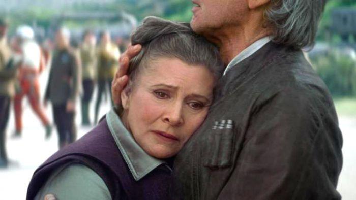 Carrie Fisher Star Wars IX