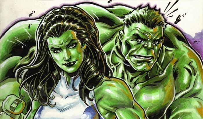 She-Hulk merupakan sepupu dari Hulk