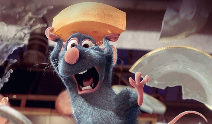 Karakter tikus animasi