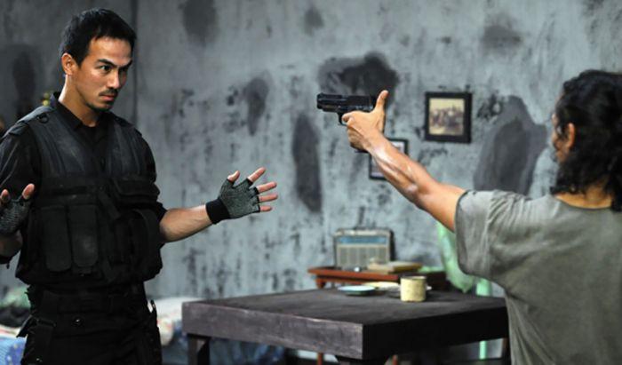 Adegan berantem di film The Raid