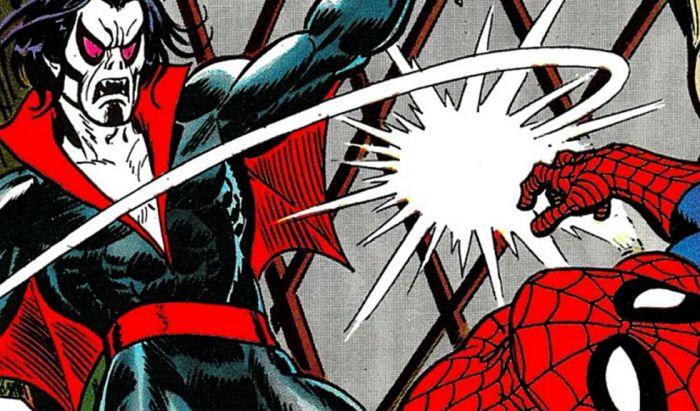 Pertemuan Morbius dengan Spider-Man