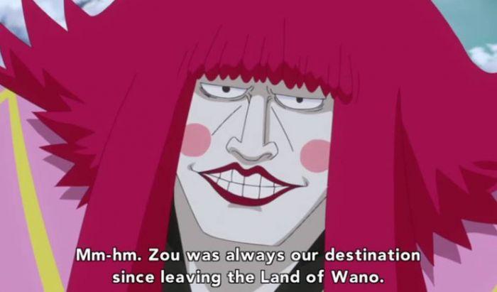 Kanjuro pengkhianat One Piece