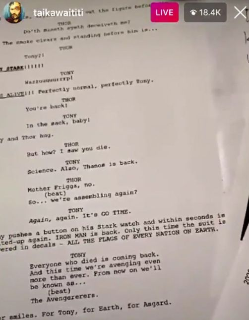Iron Man Bakal Hidup Lagi di Film Thor 4!