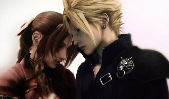 tifa vs aerith final fantasy