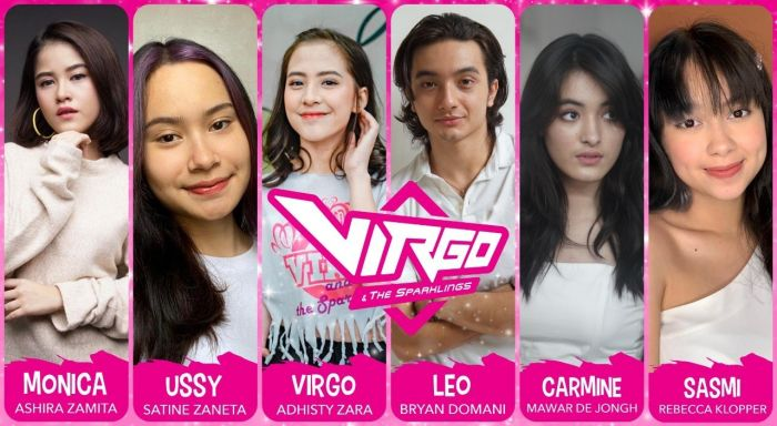 Pemain film Virgo and the Sparkling