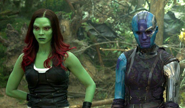 Gamora dan Nebula