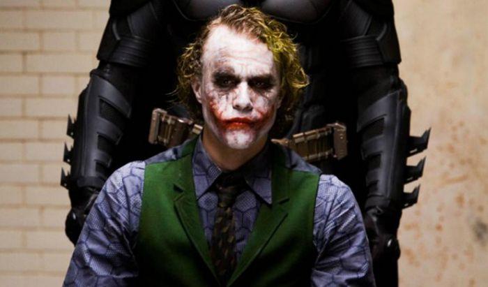 Heath Ledger di film The Dark Knight.