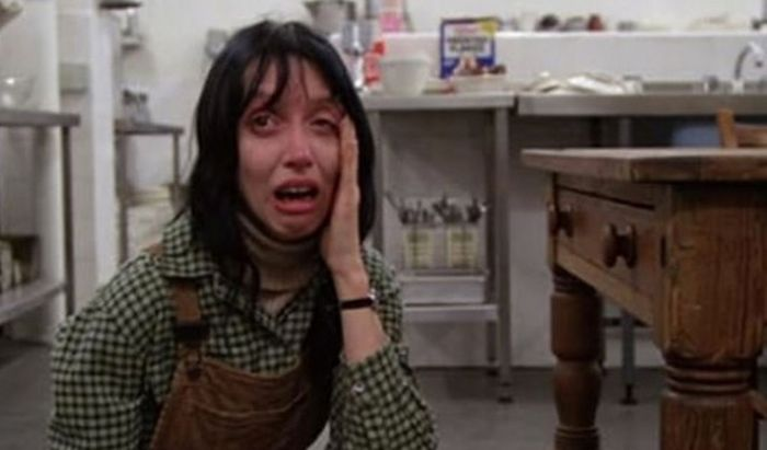 Shelley Duvall di film The Shinning.