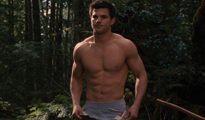 Taylor Lautner dalam Twilight Saga.