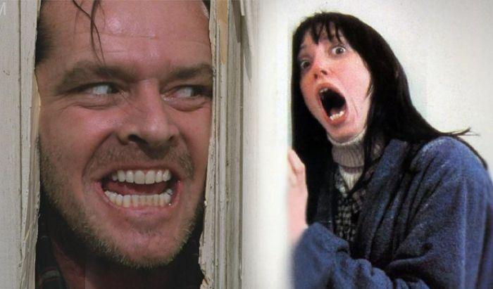 Jack Nicholson dan Shelley Duvall.