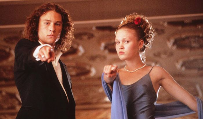 Heath Ledger dan Julia Stiles