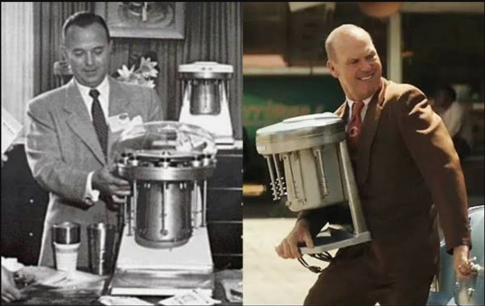 Ray Kroc dalam film The Founder diperankan oleh Michael Keaton.