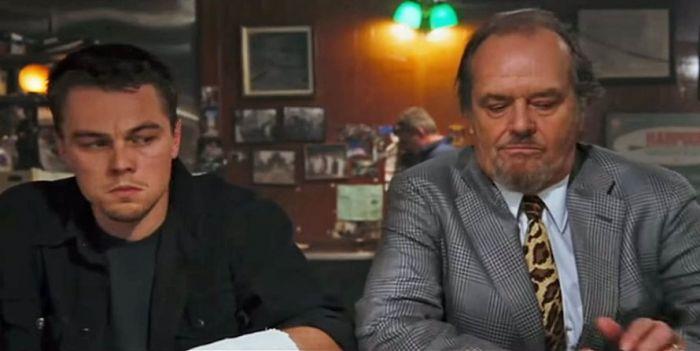 Leonardo DiCaprio dan Jack Nicholson