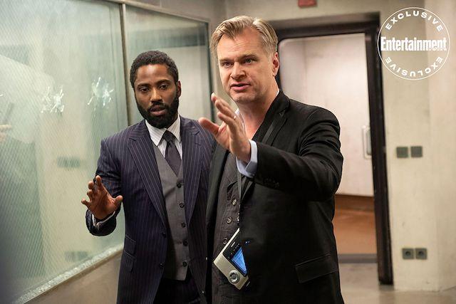 John David Washington dan Christopher Nolan