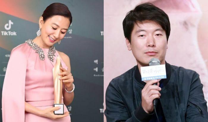 Kim Hee-ae dan Mon Wan-il.
