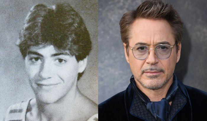 Wajah Bintang Film Hollywood Saat Sekolah