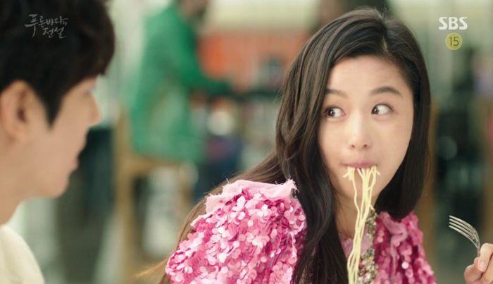 Ju Ji-hyun di Legend of the Blue Sea