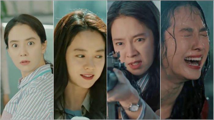 Song Ji-hyo dalam drama Korea