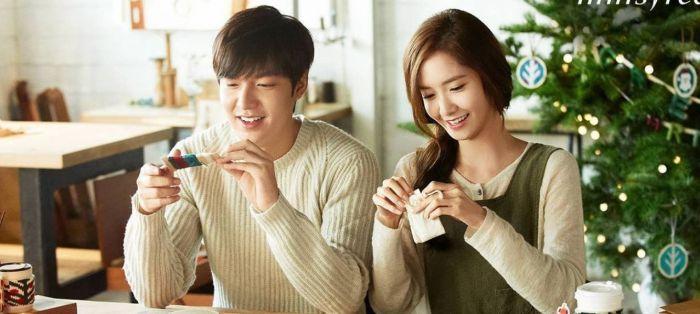 Lee Min-ho dan Yoona.