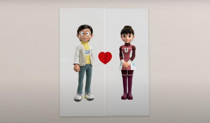 Trailer Stand by Me Doraemon 2 Hadirkan Kisah Cinta Nobita dan Shizuka
